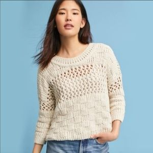 Anthropologie Moth Chunky Knit Sweater Size Medium